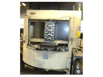 1999 Toyoda FA-630 CNC Horizontal Machining Center with Fanuc 15MB CNC Control and all options with Machine Included.
