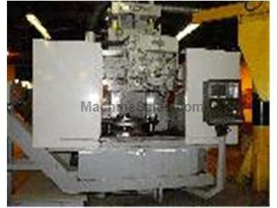 EXCELLO 454 REBUILT AND RETROFIT CNC Vertical Turret Lathe WITH MISUBISHI CNC CONTROL