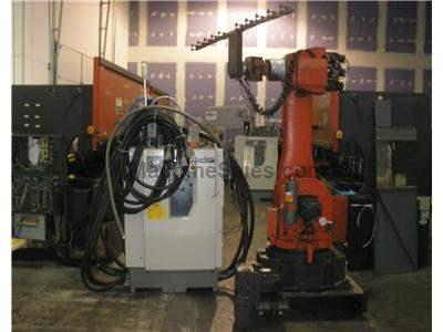 Amada ERY-1950 6 Axis Robot with CNC Control Amadan 26R model ER-50 US