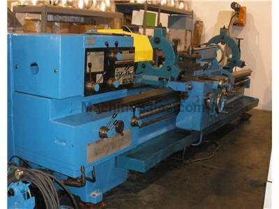 "TOS Celakovice Geared Head Engine Lathe Model SUS 63H 26"" x 144"""