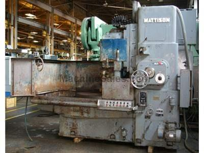 "42"" MATTISON MODEL 24-42 ROTARY SURFACE GRINDER"