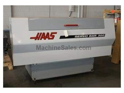 HAAS SERVO BAR 300 Magazine Type Bar Loaders