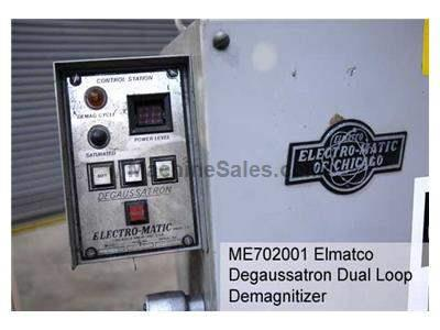 Elmatco Degaussatron Dual Loop Demagnitizer Used to Prevent Welding Arc Blow