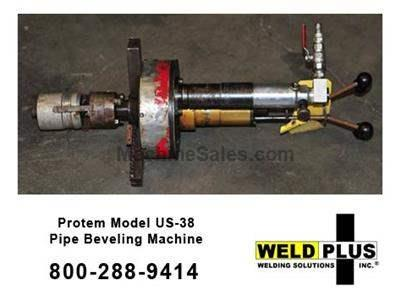 Protem Model US-38 Pipe Beveling Machine