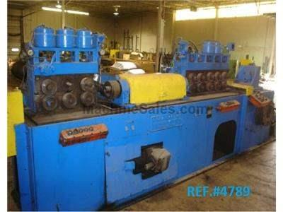 LEWIS 10 FHA STRAIGHTEN AND CUT MACHINE .250 - .635""