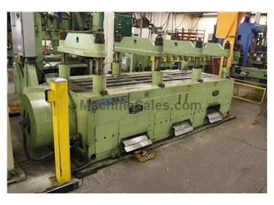 "150 Ton TISHKEN ""Cut O Matic"" Cut Off Press, 1-1/2"" Str, 15-"