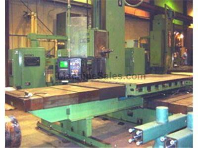 LUCAS Model 30DCS Table Type HORIZONTAL BORING MILL