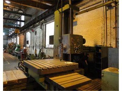 WOTAN Model B130S HORIZONTAL BORING MILL