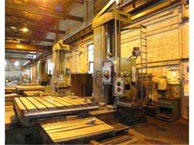 WOTAN Model B150S HORIZONTAL BORING MILL