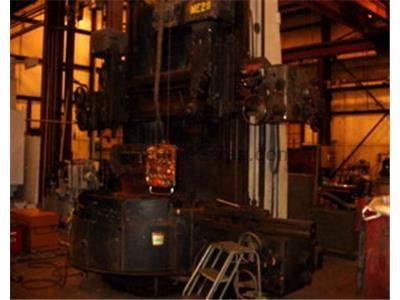 "75"" Tos Hulin Double Column Model sk-16 Vertical Turret Lathe"