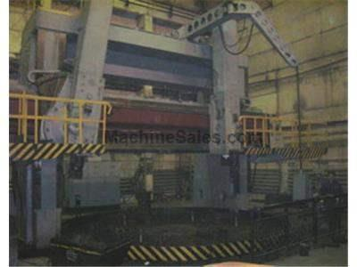 "248"" kolomna, model 1563 double column vertical boring mill"
