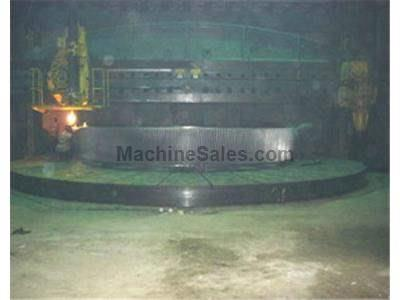 "11,200 mm (441"") niles double column, double ram vertical boring mill"