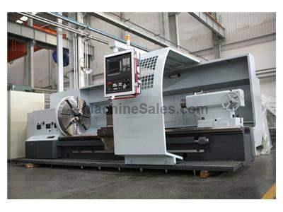"D-F 1.25m x 6m (49-1/4"" x 236-1/4"") cnc flat-bed turning center model ck61125/6000mm"