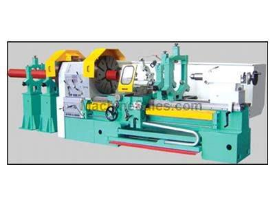 "36"" x 124"" threadmaster model ct932 hollow spindle lathe with 14.175"" hole thru the spindle"