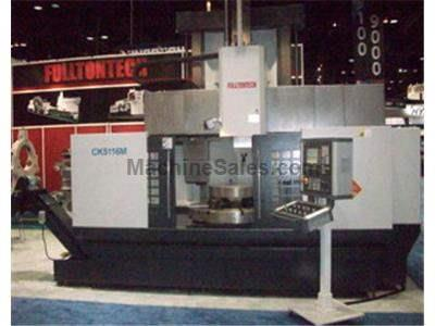 "New 1.6m (63"") d-f cnc model ck5116m single column vertical turret lathe with ""c"" axis and atc"