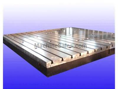 "Cast iron floor plates gg-20 grade with ""t"" slots size 22h12"