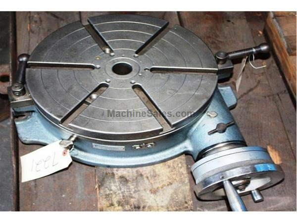 "12"" YUASA® Horizontal Precision Rotary Table"