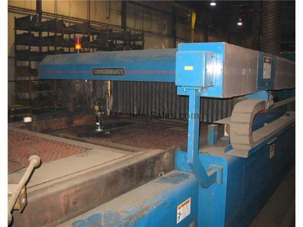 2000 WATT CINCINNATI CL-7 LASER CUTTING MACHINE WITH (2) 6' x 12' PALLETS