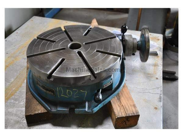 "15"" TROYKE MANUAL ROTARY TABLE"