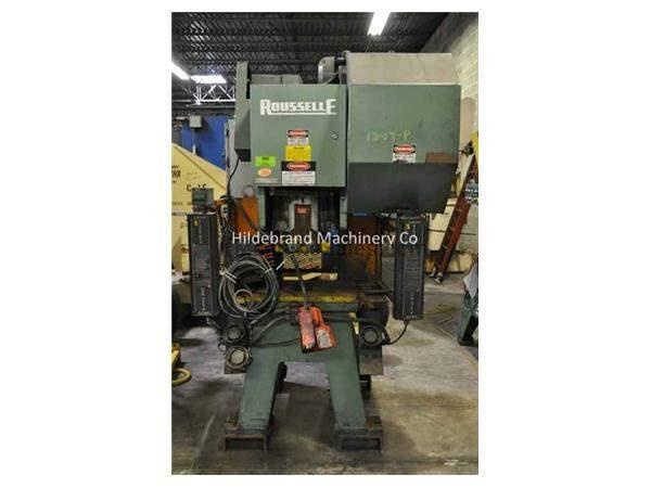 32 TON ROUSSELLE GAP FRAME BACK GEARED PUNCH PRESS