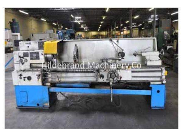 "20"" X 80"" TOS GAP BED LATHE"
