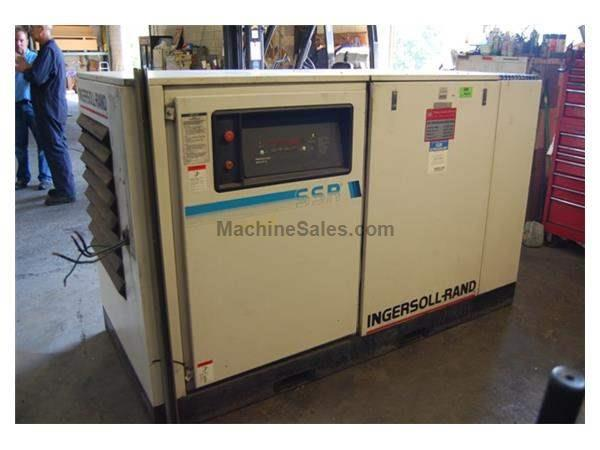 60 HP INGERSOLL RAND ROTARY SCREW AIR COMPRESSOR