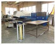 20 TON TRUMPF TRUMATIC TC3000L LASER/PUNCH COMBINATION MACHINE