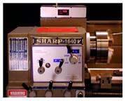 "16"" Swing 40"" Centers Sharp 1640LV ENGINE LATHE, D1-8 Camlock w/3-1/16"" bor"
