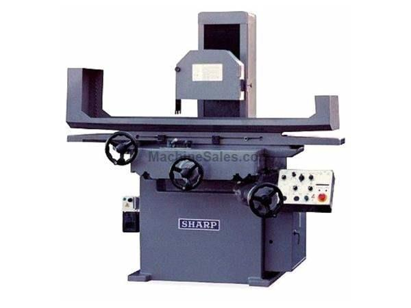 "16"" Width 32"" Length Sharp SH-1632 SURFACE GRINDER, 5 HP, 2 or 3 Axis"