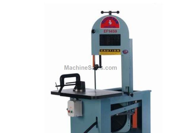 "8.75"" Throat 14.5"" Height Roll-In EF1459 *Made in the USA* BAND SAW, Handles all metals, plastics, and woods; 1 or 3 ph"