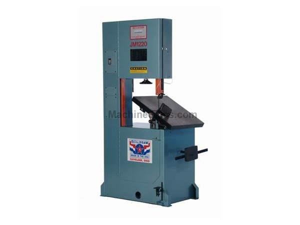 "20"" Throat 12.5"" Height Roll-In JM1220 Journeyman Tool & Die *Made in the USA* BAND SAW, Table traverses 11"" front to back; 2 HP, 3 phase"