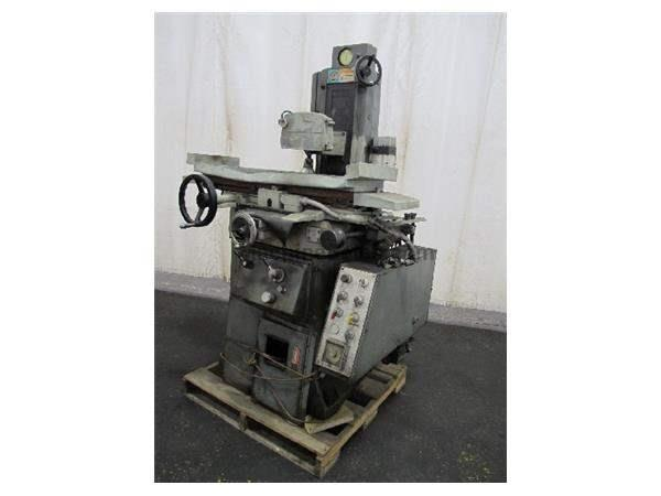 "8"" Width 18"" Length Boyar-Schultz 3A HUSK-E-LINE SURFACE GRINDER, AUTO IDF, 3X AUTO FEEDS, POWER RAPID,"