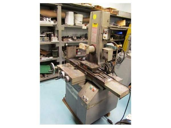 "6"" Width 18"" Length Parker-Majestic 2Z SURFACE GRINDER, power elev., all three handwheels at hip level"