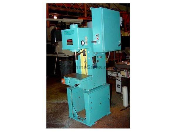 "6 Ton 12"" Stroke Denison WR67SC25750010, 6 Ton BROACHING MACHINE"