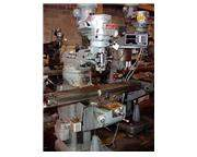 "42"" Table 2HP Spindle Bridgeport Series 1 VERTICAL MILL, TRAK 2-AXIS DRO"