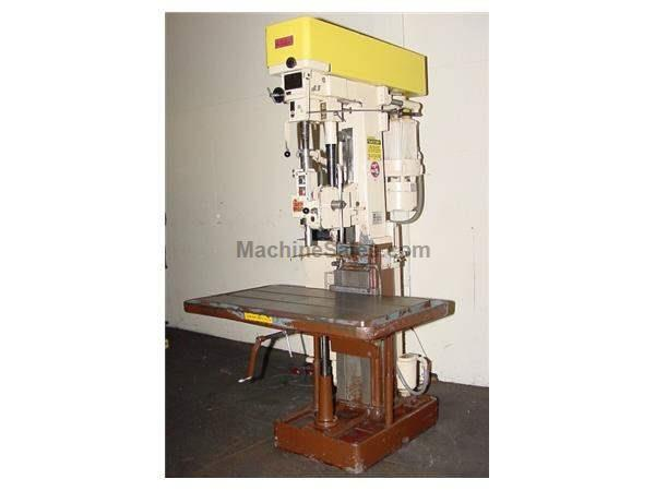 "30"" Swing 3HP Spindle Allen 30"" #2 1/2 DRILL PRESS, Power Downfeed & Tapping, T-Slotted Tbl,3 HP,#3MT"