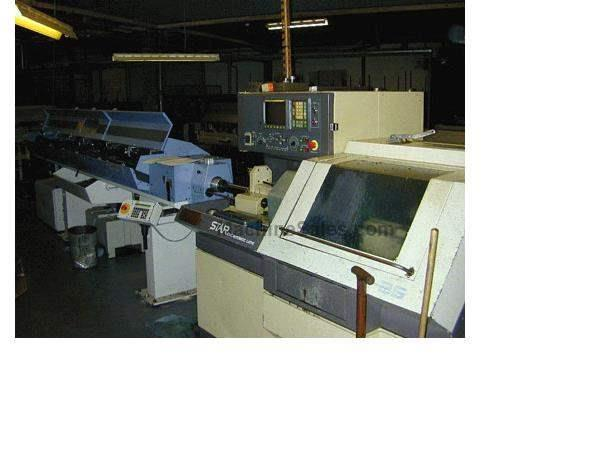 "1"" Dia. Star JNC-25 CNC SWISS TYPE LATHE, FANUC OT, FMB TURBO BARFEED"