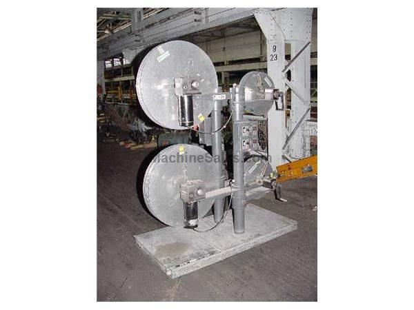 "75Lb Cap. 4"" Width Rapid Air R25FE -  4 REELS IN ONE RECOILER, WITH INTERLEAFING"