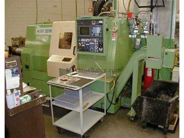 "8"" Swing Mori Seiki SL-15MC CNC LATHE, Fanuc0TC,Full C-axis,Chip,Live Tools"