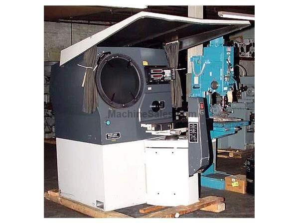 "20"" Screen Jones & Lamson EPIC 120 OPTICAL COMPARATOR, Decimetric II Readouts"