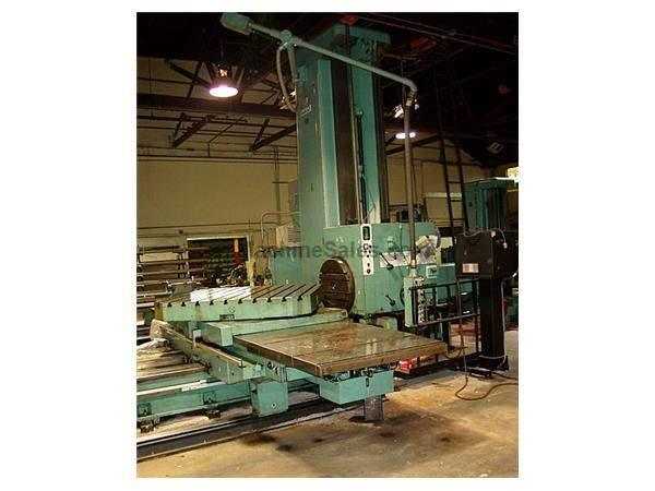 "5"" Spindle 110"" X Axis Union 90"" Vertical Trvl HORIZONTAL BORING MILL, 50 Taper,Anilam Commando System,RotaryTable,Facing"
