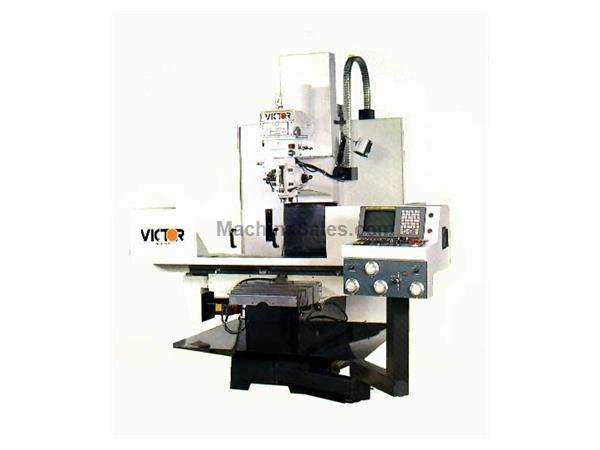"38"" X Axis 20"" Y Axis Victor 1654DCM NEW CNC MILL-VMC, Fanuc 20FA, 5 HP Spindle, #40 NMTB Taper"