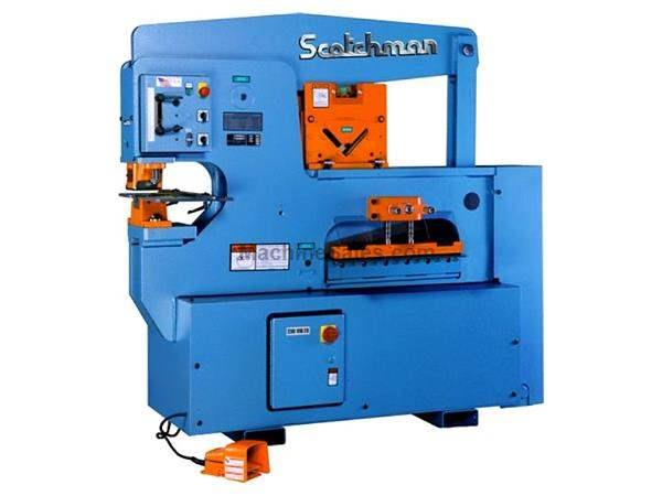 "90 Ton 12"" Throat Scotchman 9012-24M *Made in the USA* NEW IRONWORKER, single operator; 3 stations; 5 hp 3 ph 230/460v"