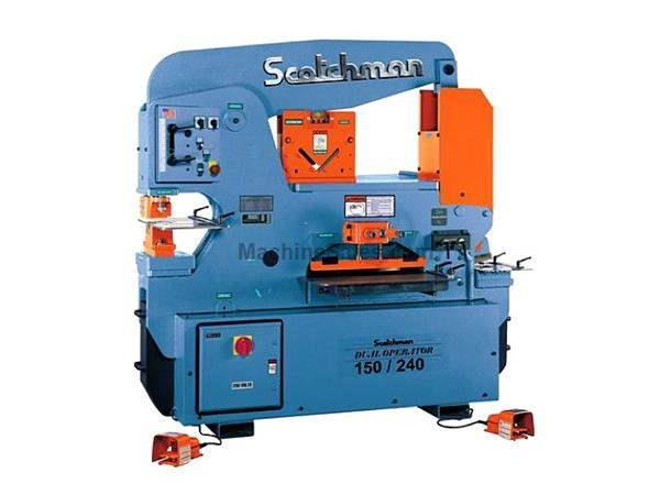 "150 Ton 12"" Throat Scotchman DO 150/240-24M *Made in the USA* NEW IRONWORKER, dual operator; 5 stations; 10 hp 3 ph 230/460v"