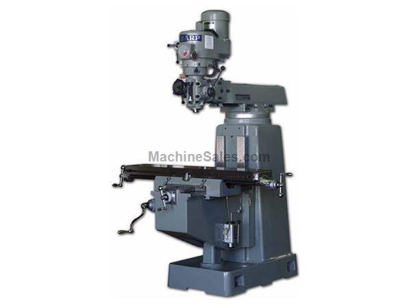 "50"" Table 3HP Spindle Sharp TMV - Heavy Pattern VERTICAL MILL, 3 HP Variable Speed"