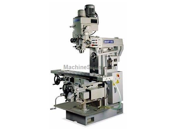 "51"" Table 7.5HP Spindle Sharp UH-3 Universal/Horz Mill HORIZONTAL MILL, Swivel Table - 90 Degrees"