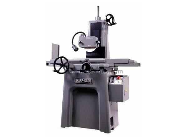 "6"" Width 18"" Length Sharp SG-618 SURFACE GRINDER, HAND FEED PRECISION"