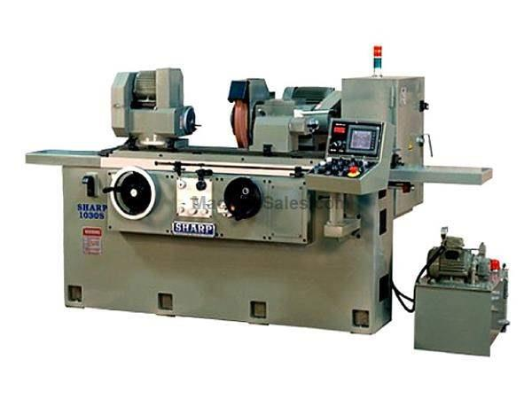 "10"" Dia. 22"" Length Sharp OD1022S OD GRINDER, Automatic Infeed system"