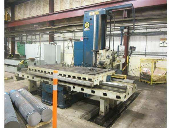 "5"" Spindle 84"" X Axis Giddings & Lewis FRASER 70A-DP5-T HORIZONTAL BORING MILL,"