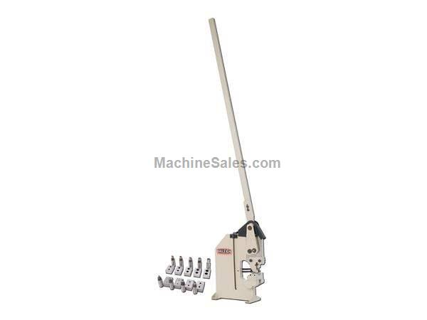 "6.25"" Throat Baileigh HP-160 NEW IRONWORKER, Manual Sheet Metal Punch"